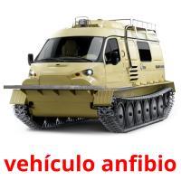 vehículo anfibio picture flashcards