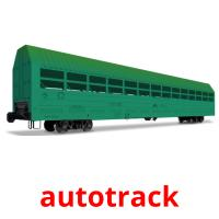 autotrack picture flashcards