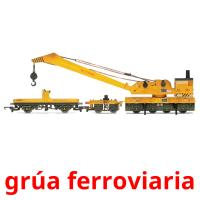 grúa ferroviaria picture flashcards