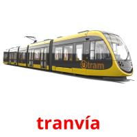 tranvía picture flashcards