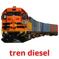 tren diesel picture flashcards