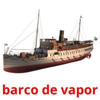 barco de vapor picture flashcards