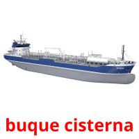 buque cisterna picture flashcards