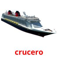 crucero picture flashcards