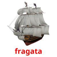 fragata picture flashcards
