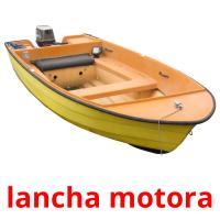lancha motora picture flashcards