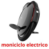 moniciclo electrico picture flashcards