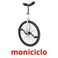 moniciclo picture flashcards