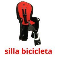 silla bicicleta picture flashcards