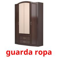 guarda ropa picture flashcards