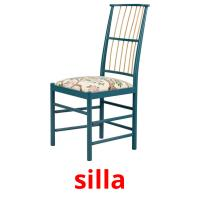 silla picture flashcards