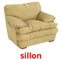 sillon picture flashcards
