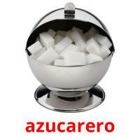 azucarero picture flashcards