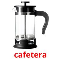 cafetera picture flashcards