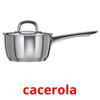 cacerola picture flashcards