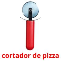 cortador de pizza picture flashcards