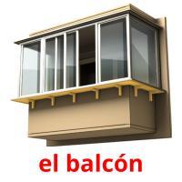 el balcón picture flashcards