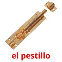 el pestillo picture flashcards