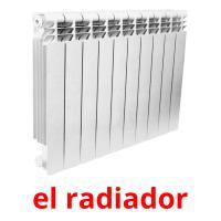 el radiador picture flashcards