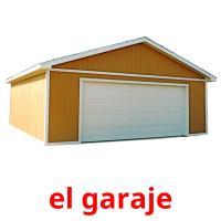 el garaje picture flashcards