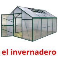 el invernadero picture flashcards