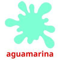 aguamarina picture flashcards
