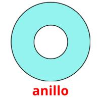 anillo picture flashcards