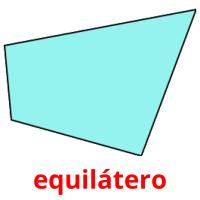 equilátero picture flashcards