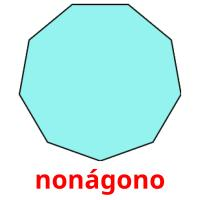 nonágono picture flashcards