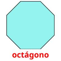octágono picture flashcards