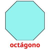 octágono picture flashcards