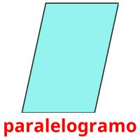 paralelogramo picture flashcards