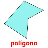 polígono picture flashcards