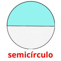 semicírculo picture flashcards