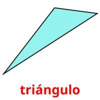 triángulo picture flashcards