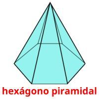 hexágono piramidal picture flashcards