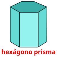 hexágono prisma card for translate