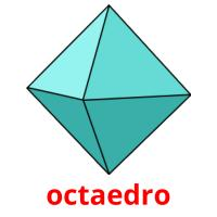 octaedro picture flashcards