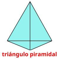 triángulo piramidal picture flashcards
