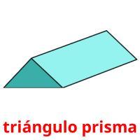 triángulo prisma picture flashcards