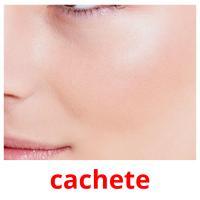 cachete picture flashcards