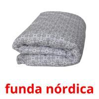 funda nórdica picture flashcards