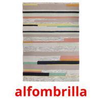 alfombrilla picture flashcards