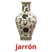 jarrón picture flashcards