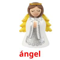 ángel picture flashcards