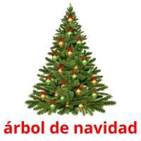 árbol de navidad picture flashcards