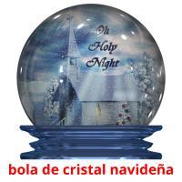 bola de cristal navideña picture flashcards