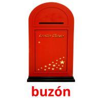 buzón picture flashcards