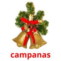 campanas picture flashcards