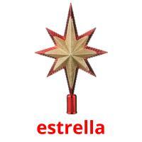 estrella picture flashcards